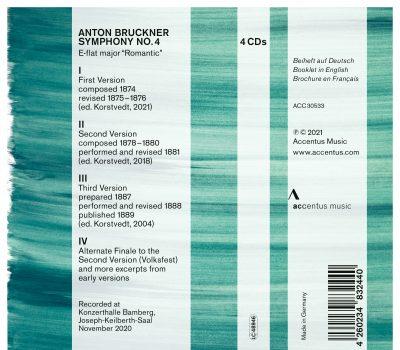 Bruckner 4 – The 3 Versions | ACCENTUS Music